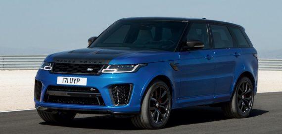 Range Rover Sport SVR 2018 blau