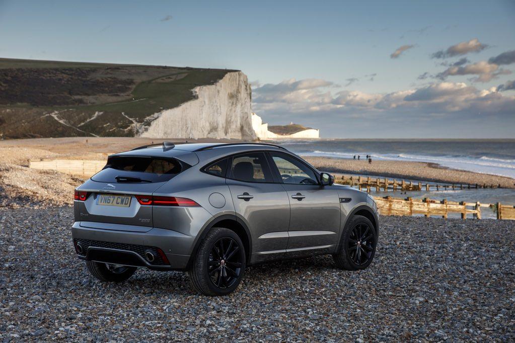 Jaguar E-Pace seitlich