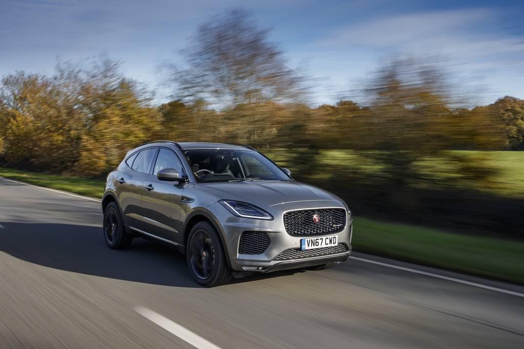Jaguar E-pace Grau Vorne