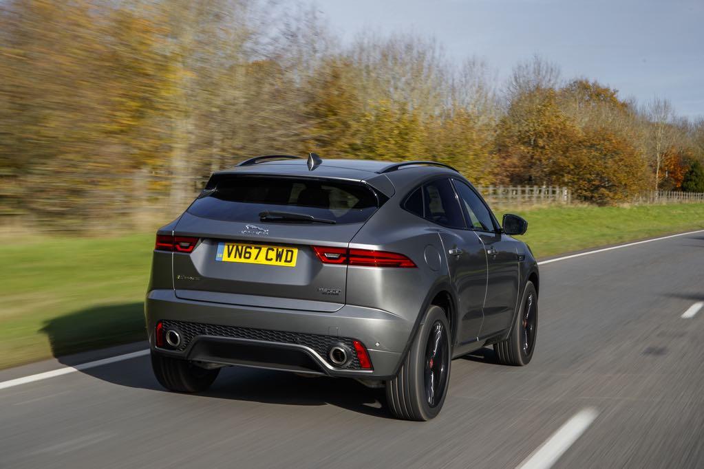 Jaguar E-pace Heck
