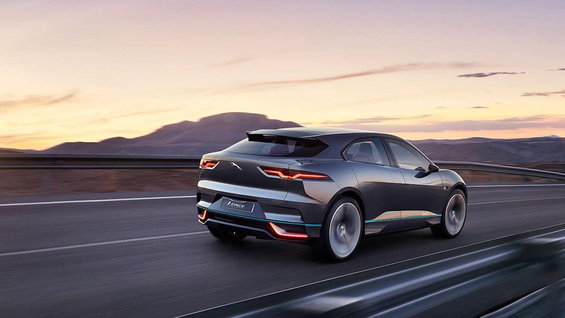Jaguar I-Pace Elektrowagen