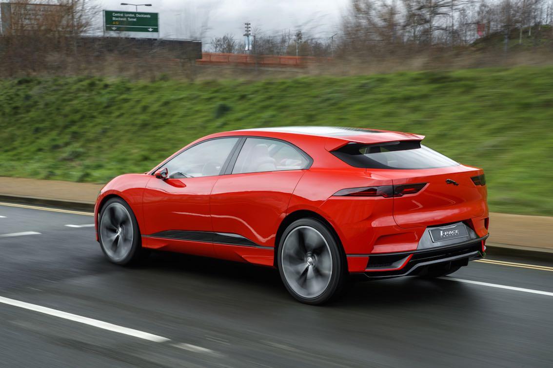 Jaguar I-pace 2017 Rot