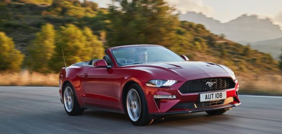 Ford Mustang 2018 Cabrio Rot