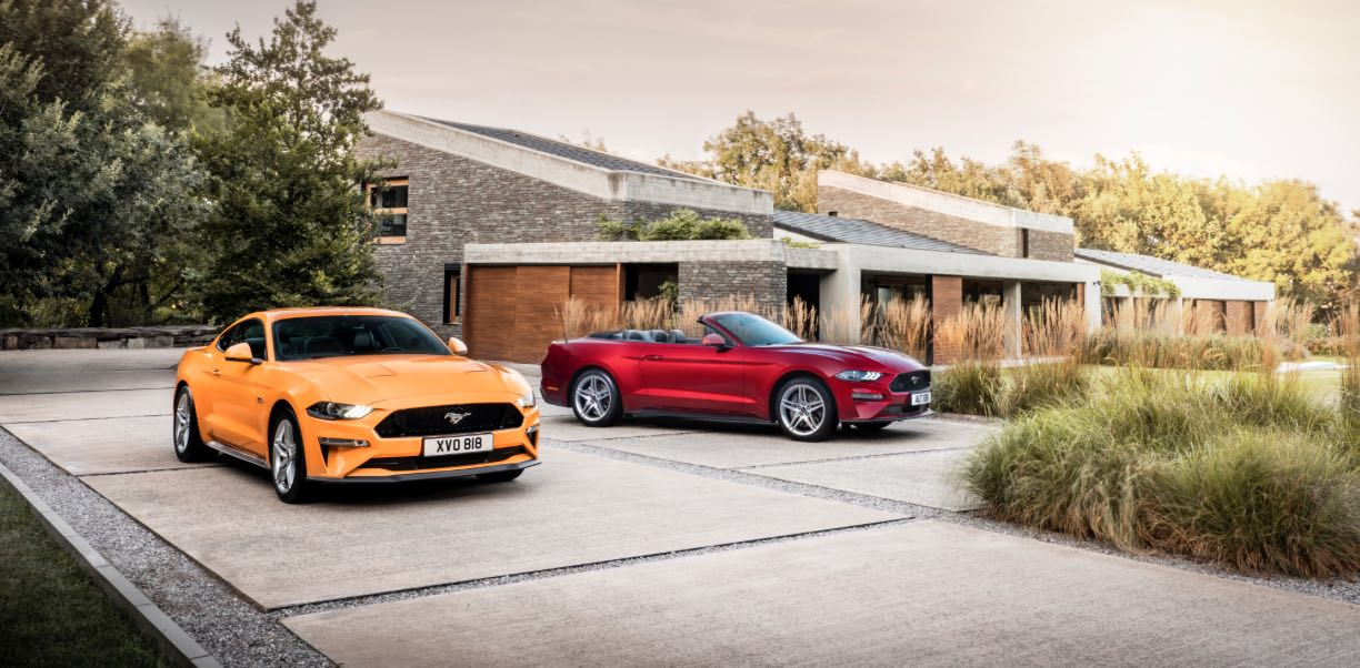 Ford Mustang 2018 Cabrio und Coupe