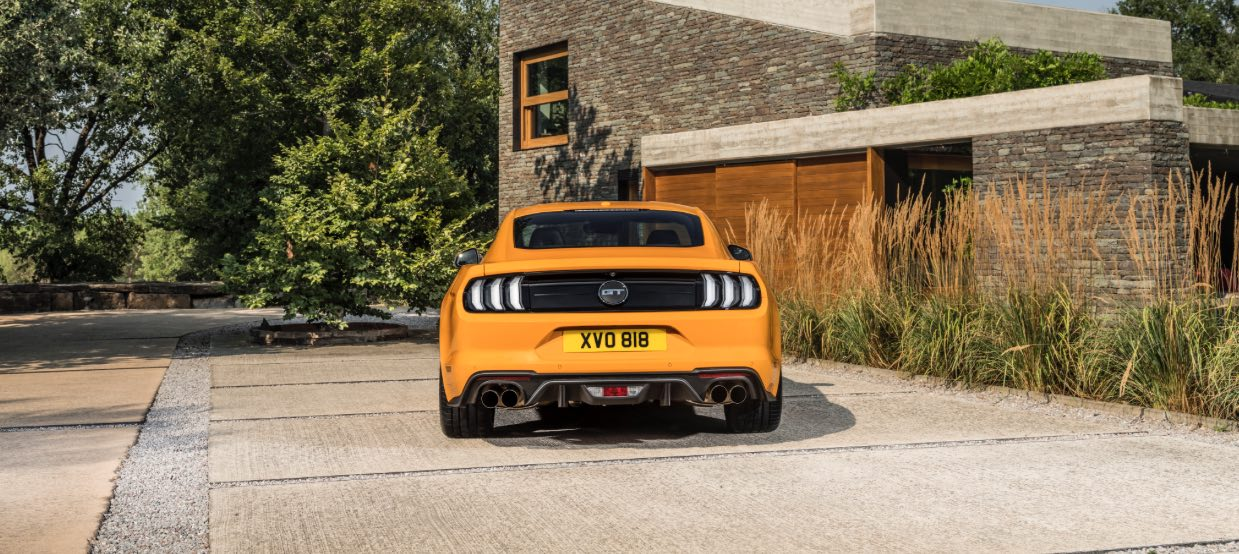 Ford Mustang GT 2018 Heck