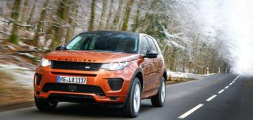 Range Rover Discovery 2018 Orange Front