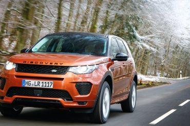 Range Rover Discovery 2018 Orange Front