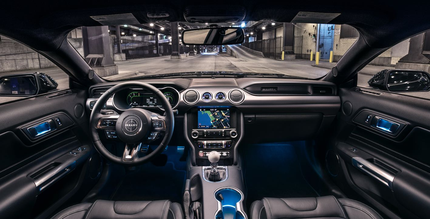 Ford Mustang Bullitt Innenraum
