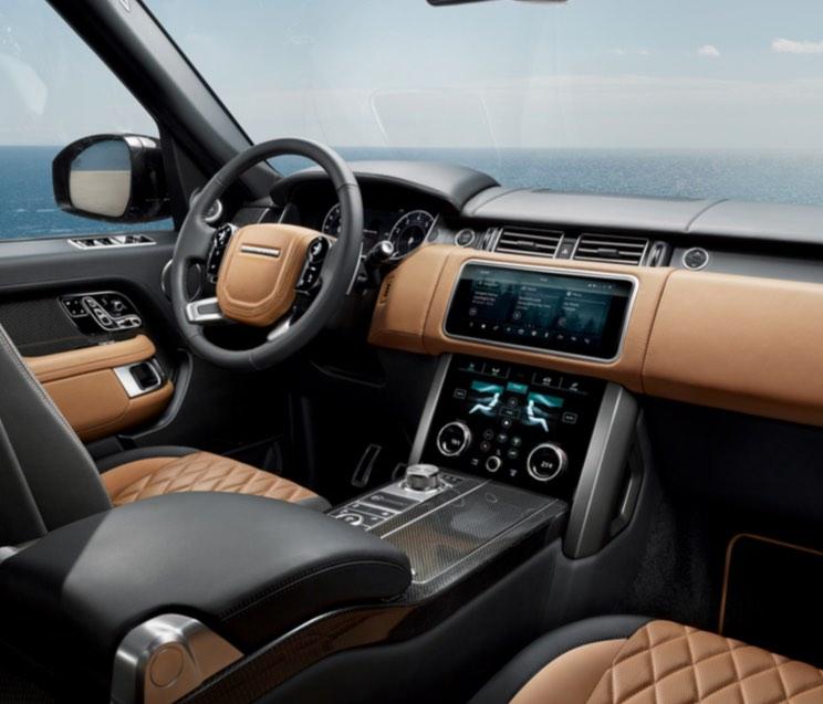 Innenraum Range Rover 2018