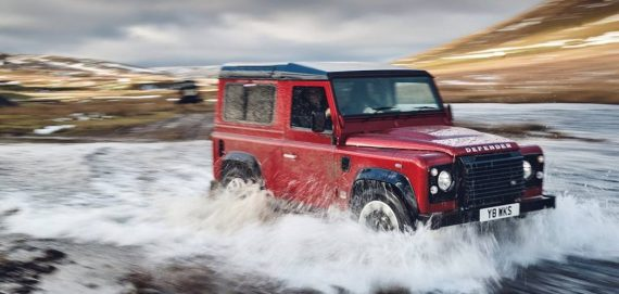 Land Rover Defender 70th