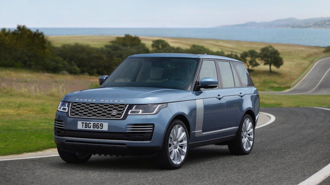 Range Rover 2018 Blau
