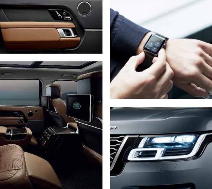 Range Rover 2018 Rücksitzbank