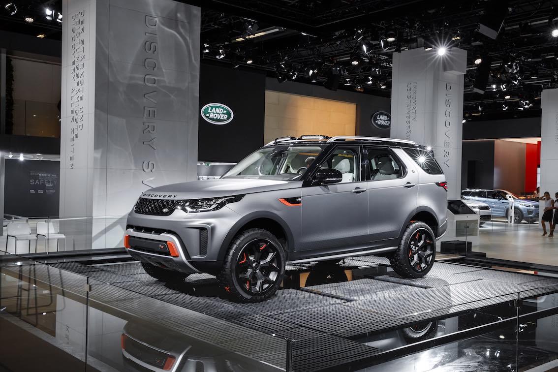 2017 Land Rover Range Rover Sport 5.0 L V8 Supercharged >> Video des Land Rover Discovery SVX und zahllose Bilder