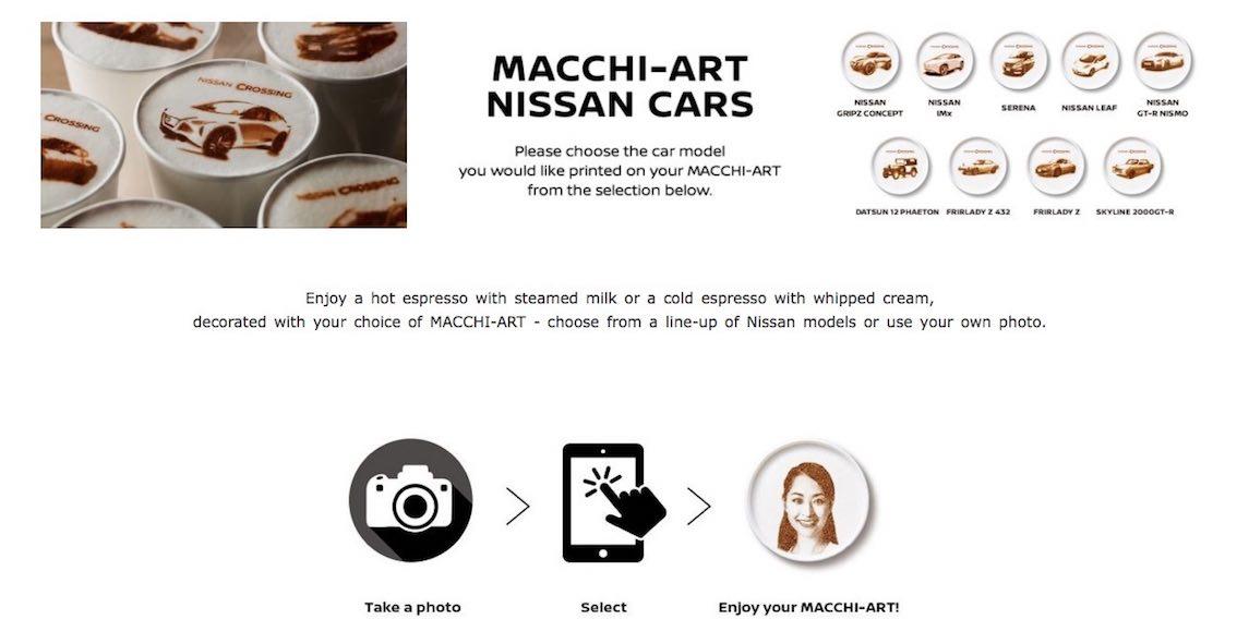 Nissan Macchi Art