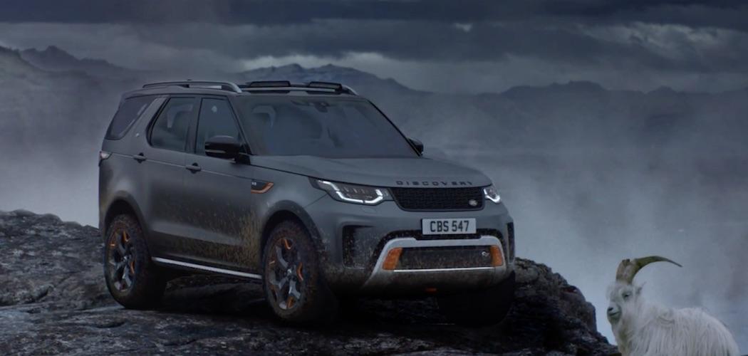 Video Range Rover SVX