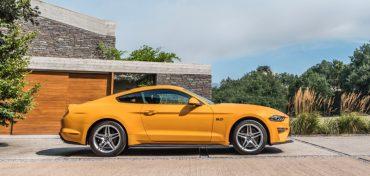 Ford Mustang 2018 Gelb Beitragsbild