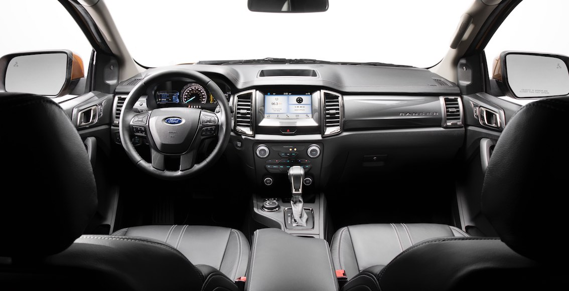 Ford Ranger 2019 Armaturenbrett