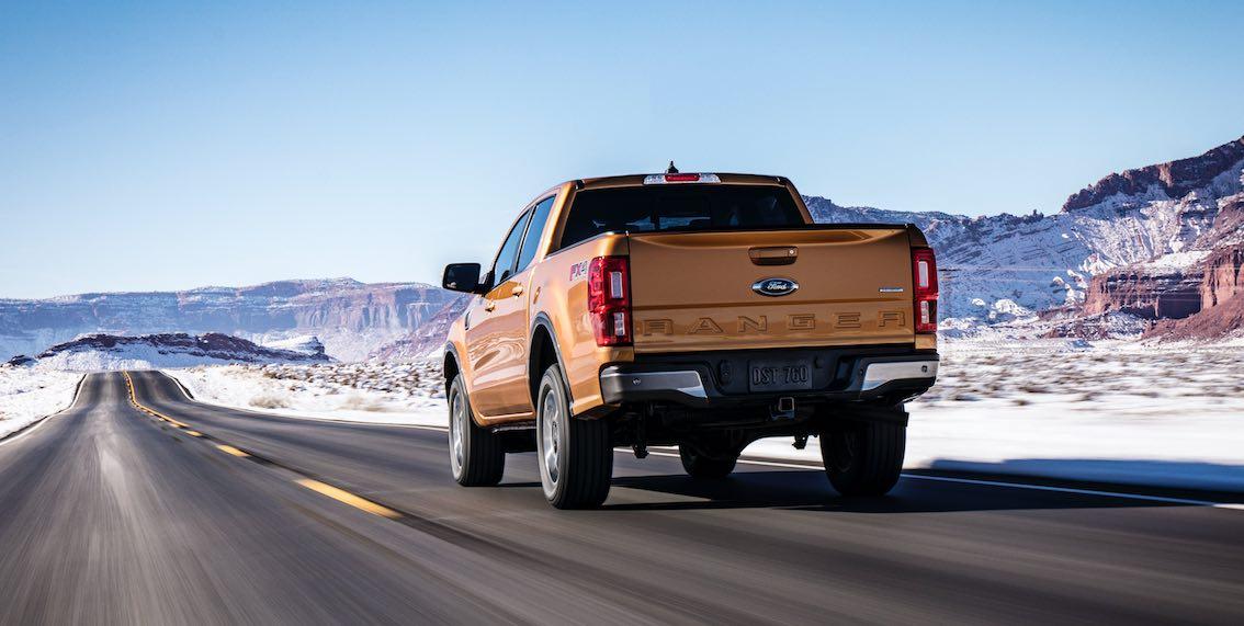Ford Ranger 2019 FX4 Heck