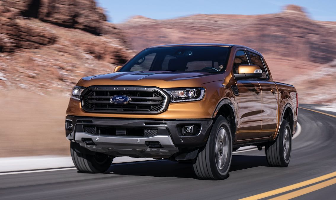 Ford Ranger 2019 Front Gold