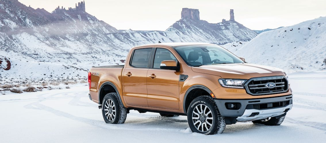 Ford Ranger 2019 Front Schnee