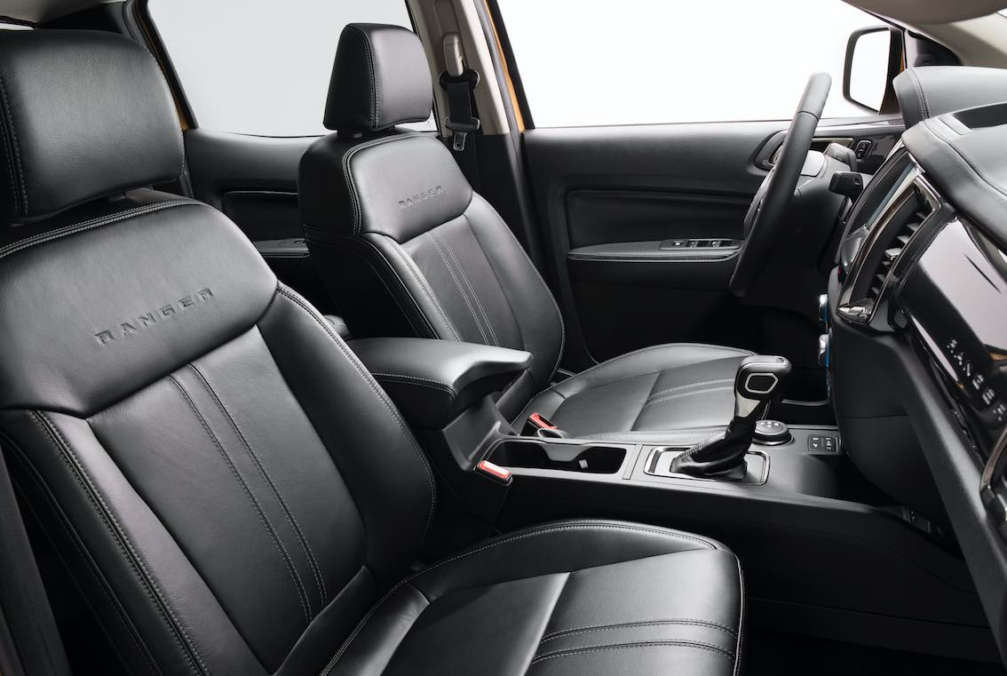 Ford Ranger 2019 Sitze Leder Schwarz