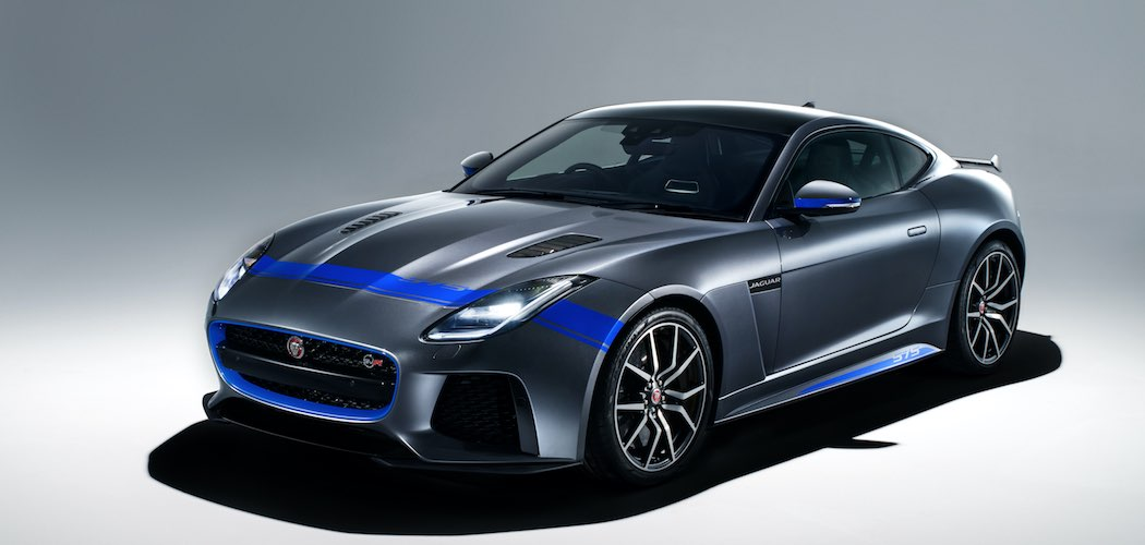 Jaguar F-Type SVR Graphic Pack