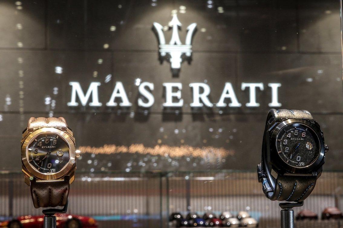 Maserati Bulgari Uhren
