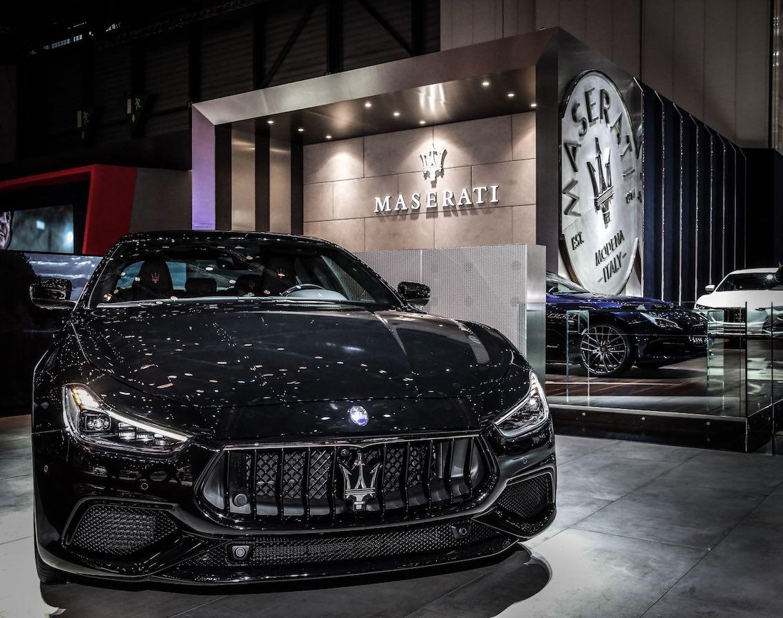 Maserati Ghibli Nerissimo Front