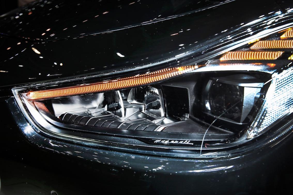 Maserati Ghibli Nerissimo Scheinwerfer