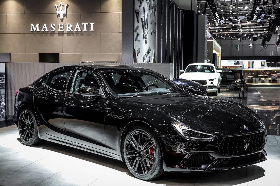 Maserati Ghibli Nerissimo