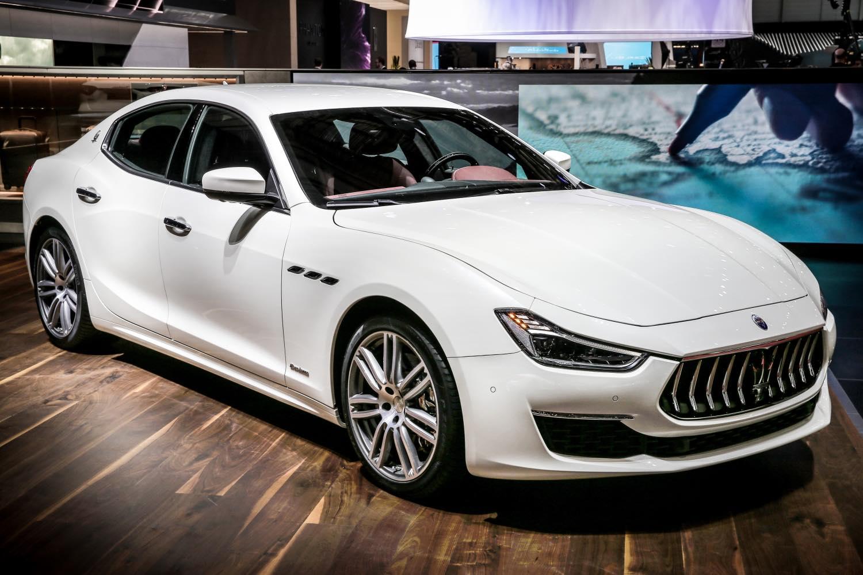 Maserati Granlusso Weiß 2018