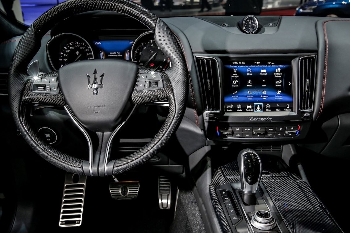 Maserati Levanta Lenkrad
