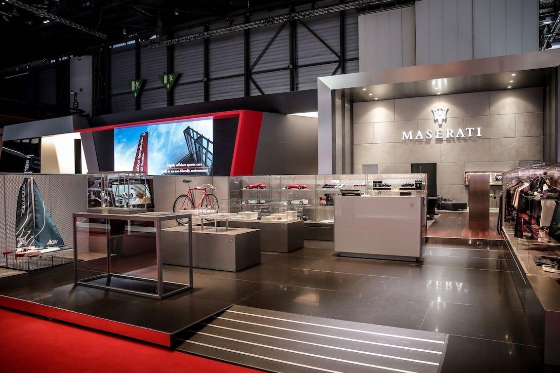 Maserati Merchandising Genf 2018