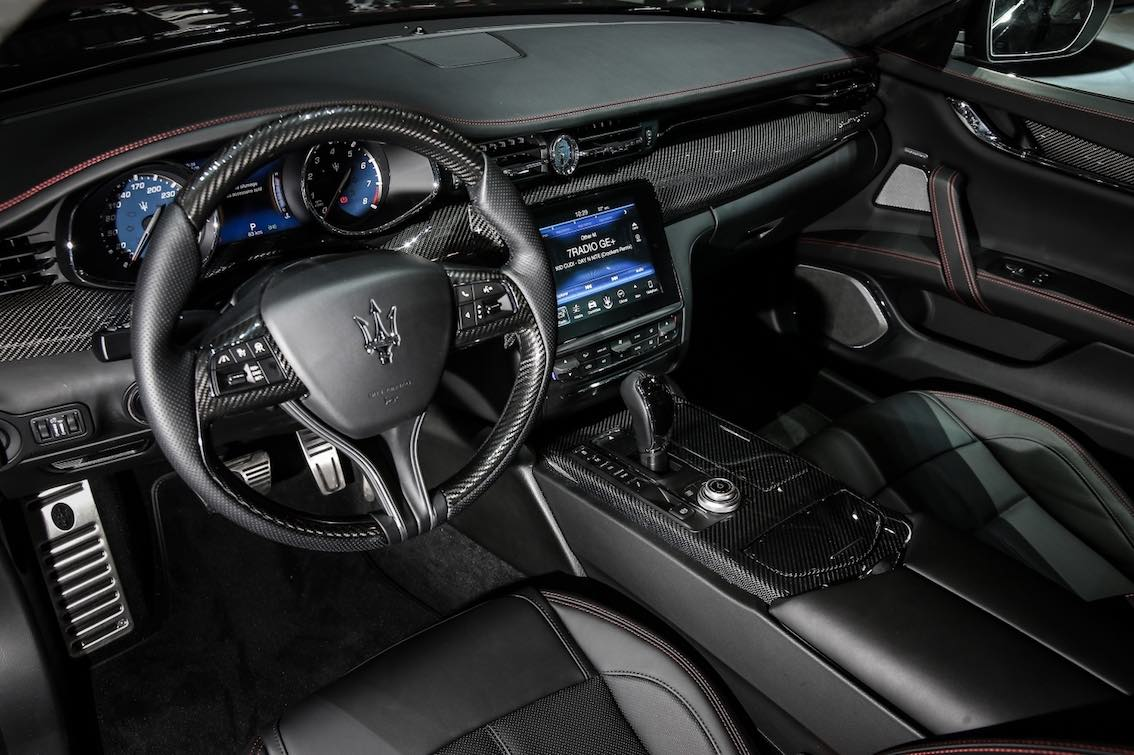 Maserati Quattroporte Nerissimo Lenkrad