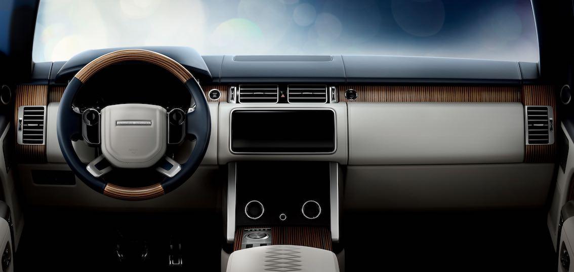 Range Rover SV Coupe Armaturenbrett