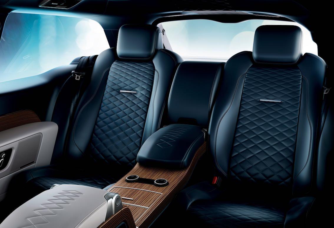 Range Rover SV Coupe Rücksitzbank