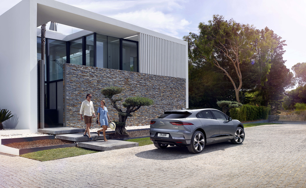 Jaguar I-Pace Elektroauto Elektrowagen