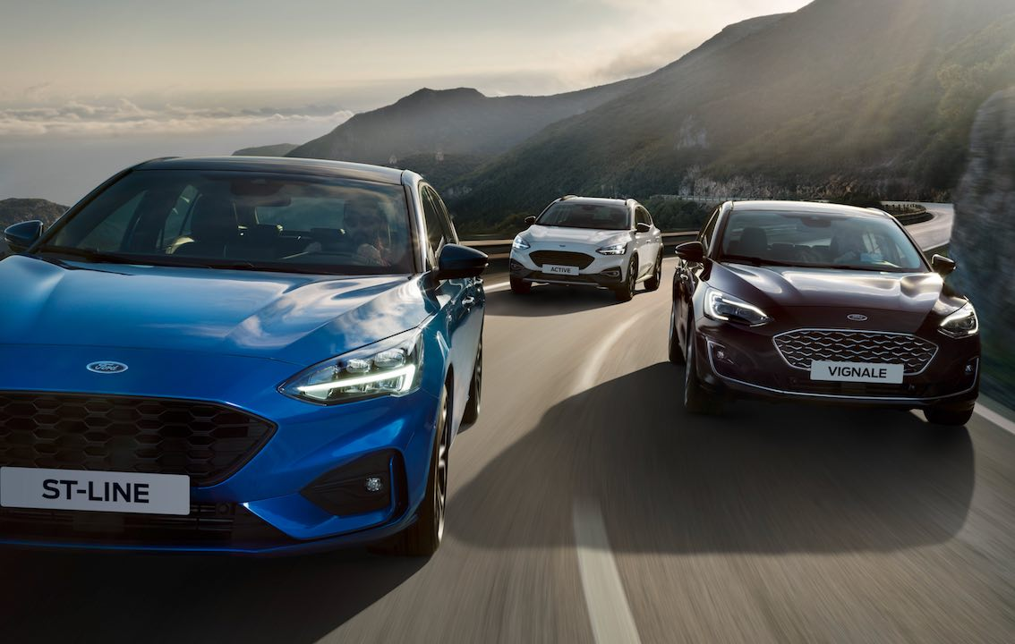 Ford Focus 2019 ST Line Vignale