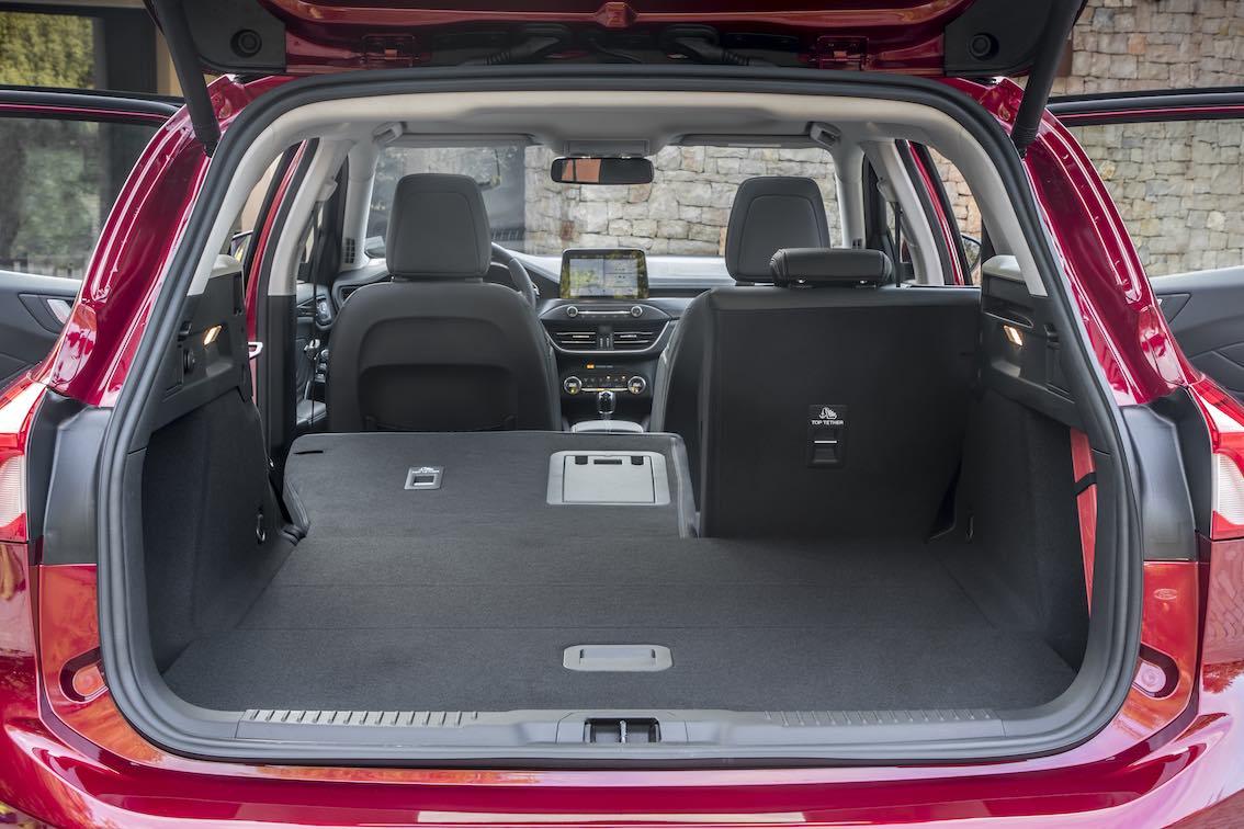 Ford Focus 2019 Vignale Kombi Kofferraum