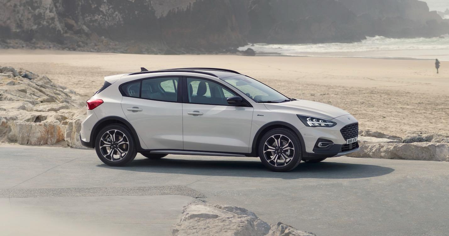Ford Focus 2019 weiß