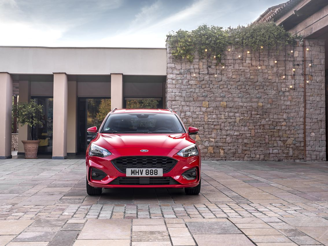 Ford Focus ST Line 2019 Front Rot Kombi
