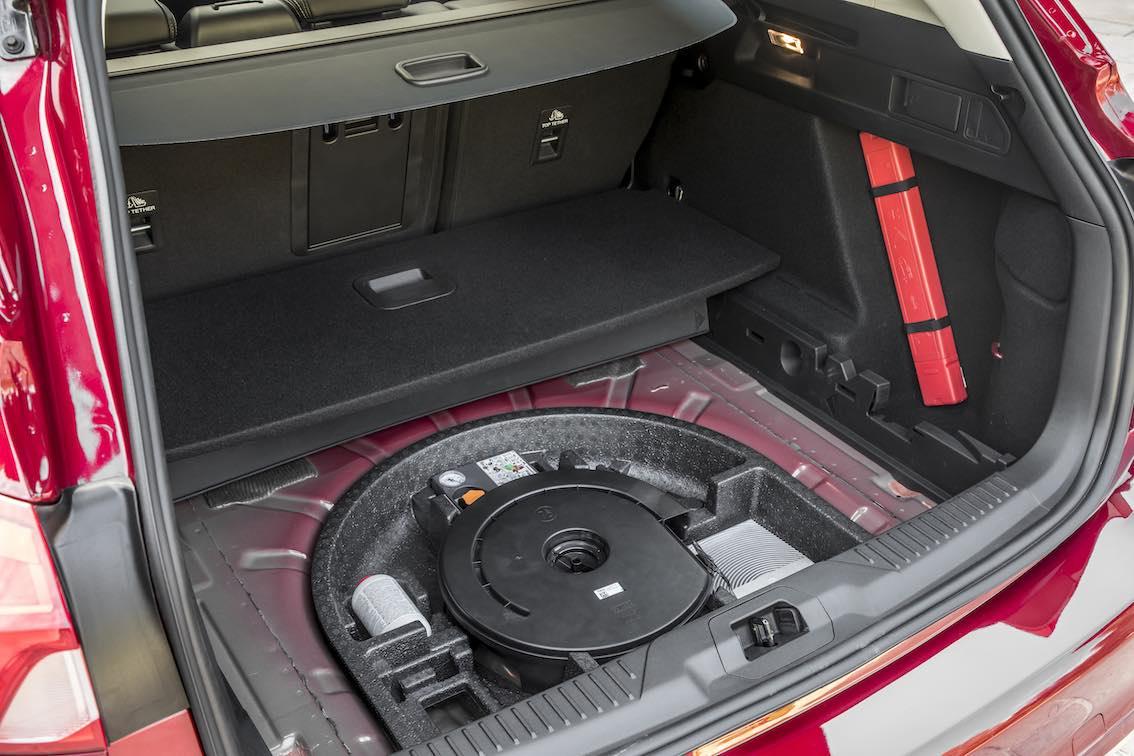 Ford Focus Vignale 2019 Reserverad