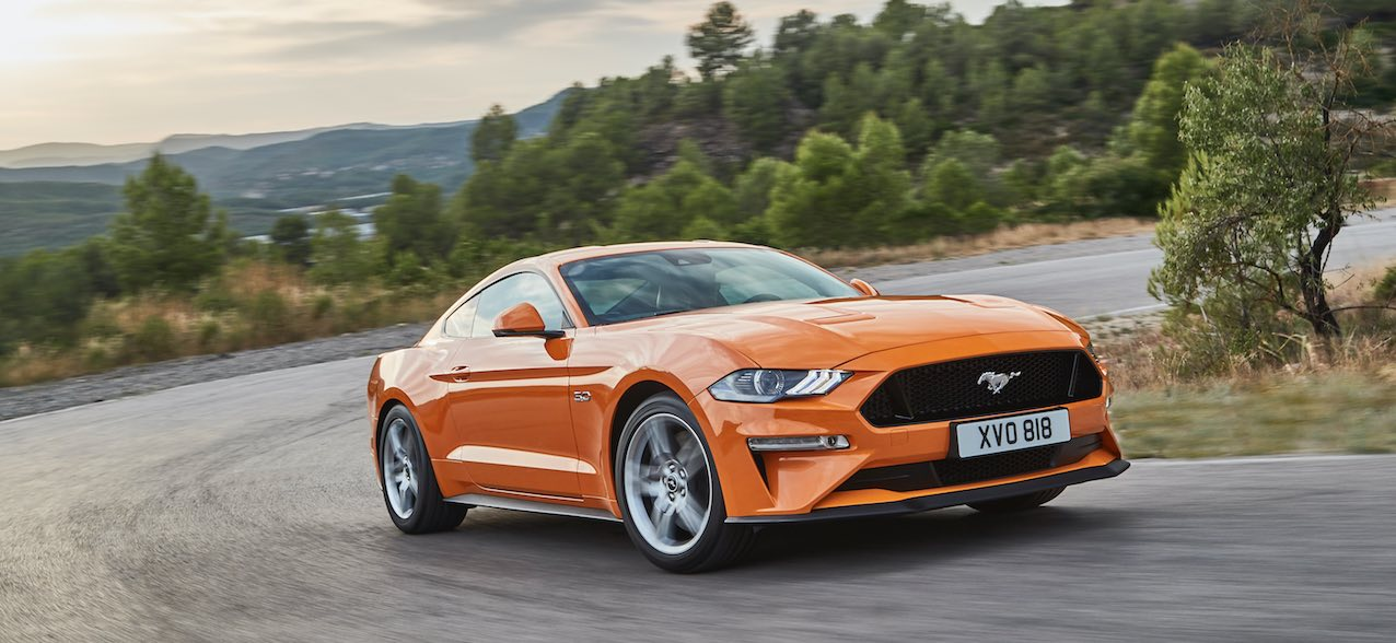 Ford Mustang 2018 Coupe Orange