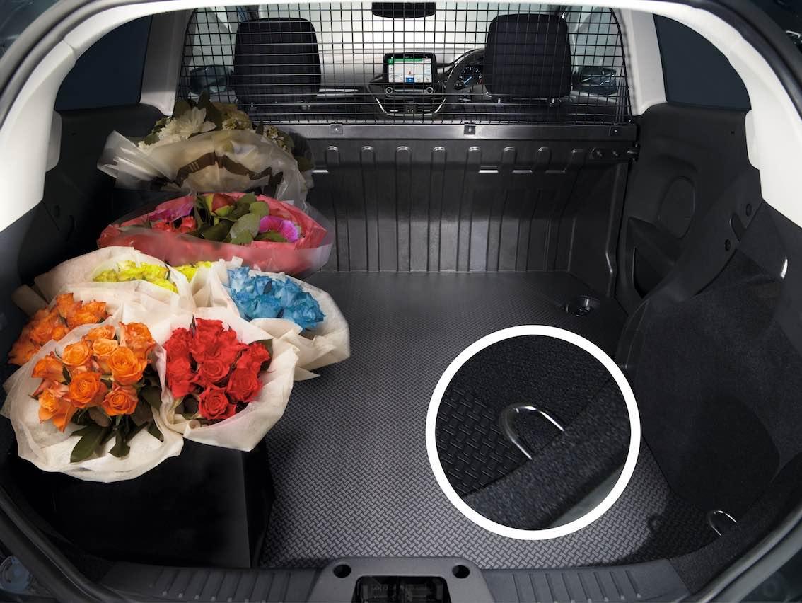 Ford Fiesta Van Kofferraum