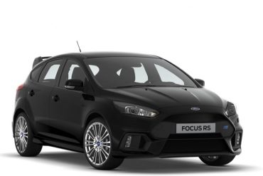 Ford Focus RS 2018 Schwarz
