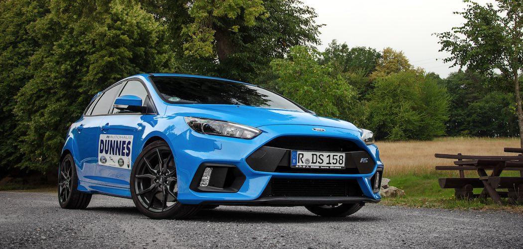 Ford Focus RS Blau