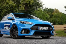 Ford Focus RS Blau
