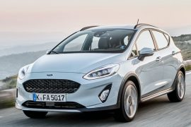 Ford Fiesta 2018 Silber Front