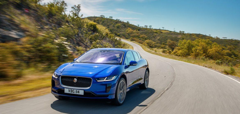 Jaguar I-Pace Blau