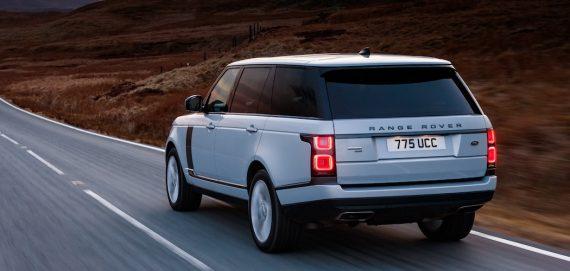 2019 Range Rover Weiß